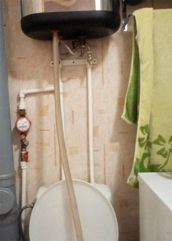 Kak slit' vodu iz vodonagrevatelja 2